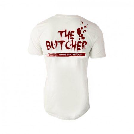"""Fehér """"The Butcher"""" póló"""
